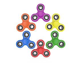 Fidget Spinner 3D model play