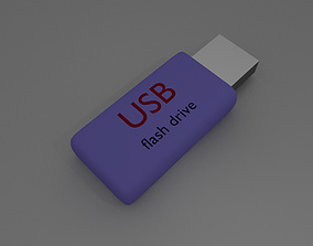 3D model 32GB pendrive