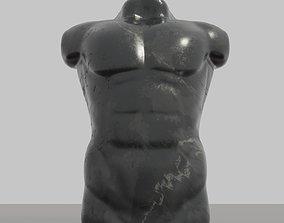 Original 3D printable Man Torso sculpture STL 3MF OBJ