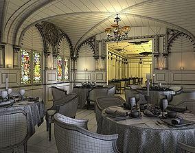 Royal Restaurant Interior 3D