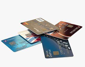 3D Credit Cards credit