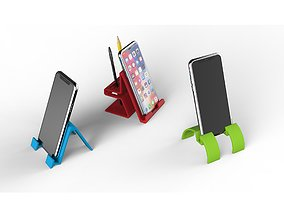 3 smartphone stands for 3d print stl