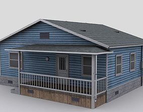 3D asset Wooden house