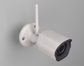 Zmodo Outdoor Security Surveillance Camera 3D model