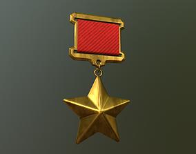 Medal 3D model realtime