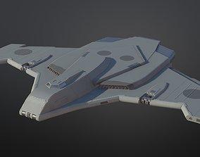 3D asset Surveyor Spaceship