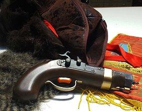 The Swashbucklers Screw Pistol 3D print model