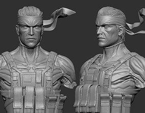 Solid Snake 3D print model