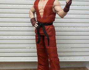 Ken Street Fighter Fan Art Statue 3d Printable