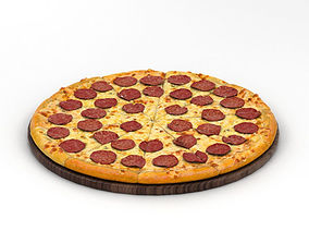Pizza 3D model miscellaneous