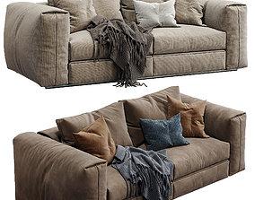 Flexform Sofa Asolo 2 color version 3D model
