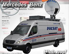 3D model Mercedes-Benz Sprinter Pacsat