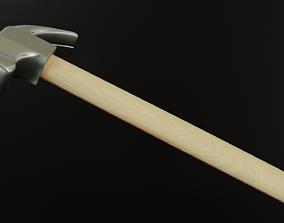 Hammer 3D asset game-ready PBR industrial