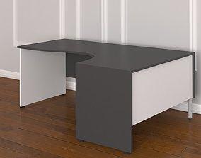 3D Corner Office Desk
