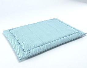 Pet carpet pet bed cushion beanbag baby mattress 3D model