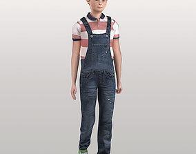 Character Child Sam 3D asset
