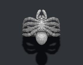 3D printable model Spider ring hair