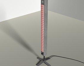 3D model Fan Heater