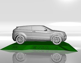 RANGE ROVER EVOQUE MODEL FOR 3D PRINTING STL