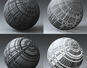 3D Syfy Displacement Shader H 001 i