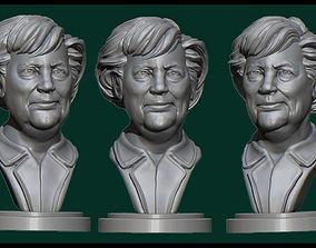 Angela Merkel woman 3D print model