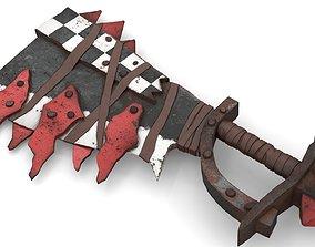 Orc Battle Axe 1 3D model