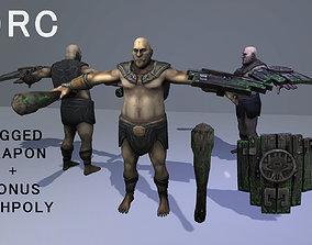 3D asset Forest Orc