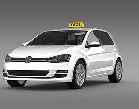 Volkswagen Golf TSI Taxi 3D