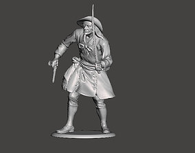 3D printable model Pirate toy soldier