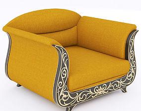 3D Roberto Ventura W111P armchair