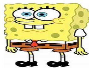 spongebob 3D asset low-poly