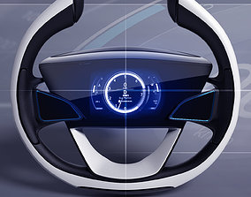 3D Car steering