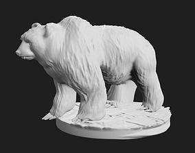 3D print model Grizzly Bear