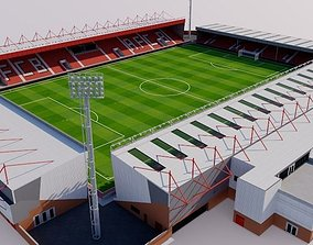 3D model Dean Court Stadium - Bournemouth