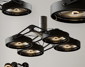 NOMAD 4XLED GE by Modular Lighting Instruments 3D model