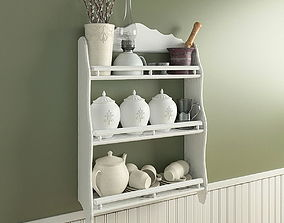 3D Shelf with provence decore
