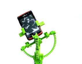 Armillary phone holder 3D printable model