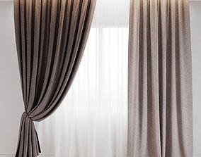3D model curtain 5