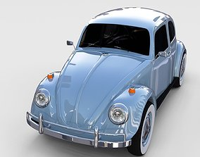 VW Beetle rev 3D