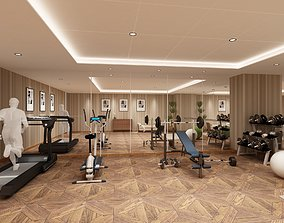 GYM FITNESS DESIGN 3D