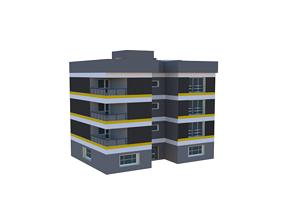 3D model Building exterior architectural