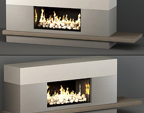 room Fireplace 3D model