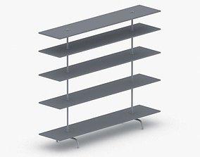 3D model 0485 - Bookcase