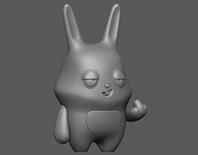 Bad rabbit 3D print model