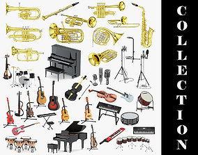 Musical instrument 39 Models