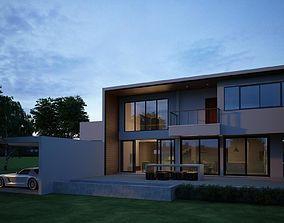modernhouse Modern House 04 3D