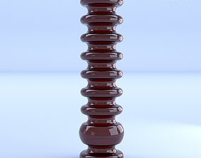 Glass Vase Red 3D