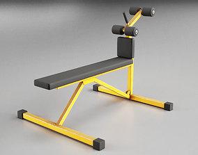 3D asset Roman Chair