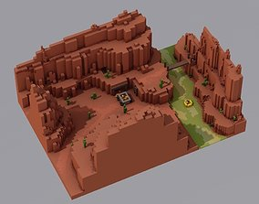 3D print model Mini Grand Canyon