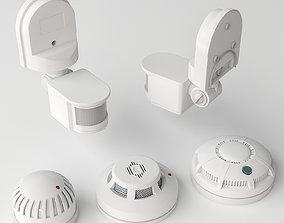 3D model Sensor Set